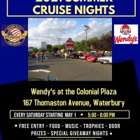 Wendy's Summer Cruise – Waterbury – May 8, 2021