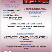 Citizens Against Substance Abuse Car Show – Wolcott – September 18, 2021